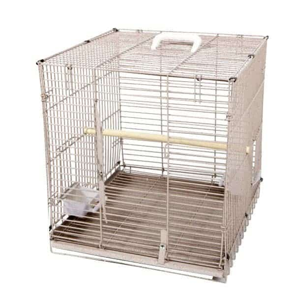 Travel Carrier EZ Fold Up for Medium Parrots by AE BC1819M Sandstone