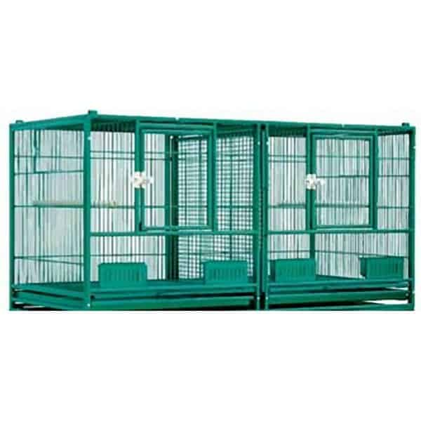 Breeder Cage Double Divided Stackable HQ 14020 Black