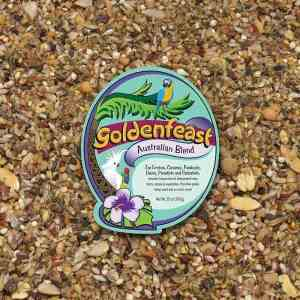 Goldenfeast Australian Blend Small Exotics Bird Food 64 oz (1.81 kg)