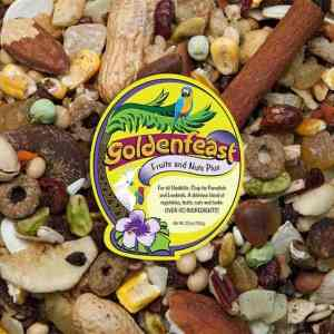 Goldenfeast Fruits And Nuts Plus All Natural Bird Food 25 oz (708 g)