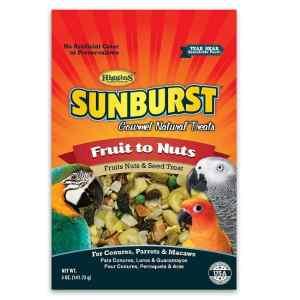 Higgins Sunburst Fruit To Nuts Treat For Birds Large 20 lb (9.07 Kg)