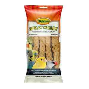 Higgins Naturally Grown Spray Millet for Birds In Sealed Bag 12 Sprays