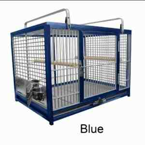 Aluminum Travel Cage for Large Birds by King's Cages ATM2029 Bronze