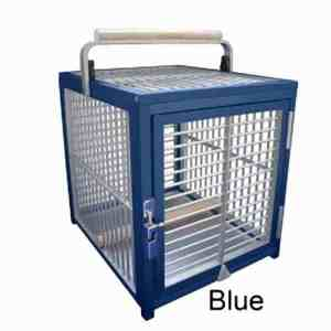 Aluminum Tiny Travel Cage for Small Birds by King's Cages ATT1214 Bronze