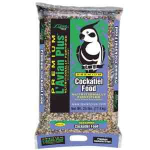 L'Avian Cockatiel Food Plus Premium Seed Mix 25 lb (11.34 Kg)
