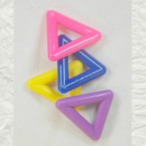 Marbella Style Triangles for Bird Toys 1 1/4 Inch 4 pc