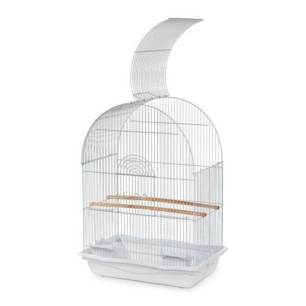 Dome Top Cage Home & Travel Carrier by Prevue 31995 17×11
