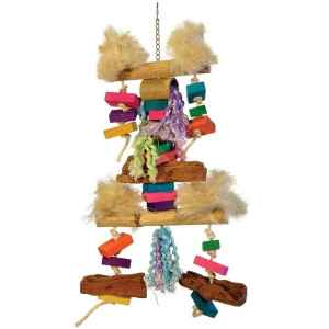 Bodacious Bird Toy for Large Parrots – Fluff N Stuff