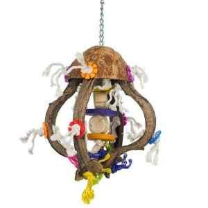Prevue Calypso Creations Bird Toy for Medium Parrots – Jellyfish