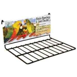 Flat Perch Sun Deck Landing Platform Birds Animals Small