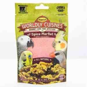 Higgins Worldly Cuisines Spice Market Microwave In Bag 2 oz (57 G)