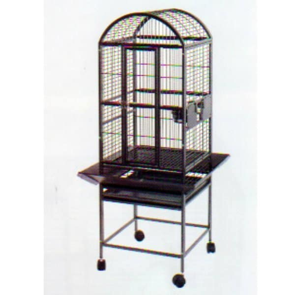 Dome Top Bird Cage for Smaller Parrots by AE 9001818 Sandstone