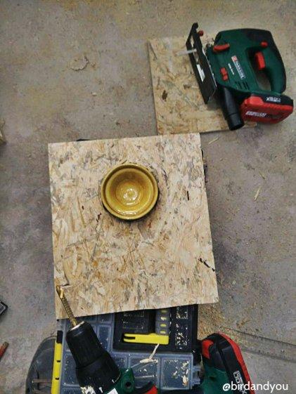 fabrication nid perruche 7