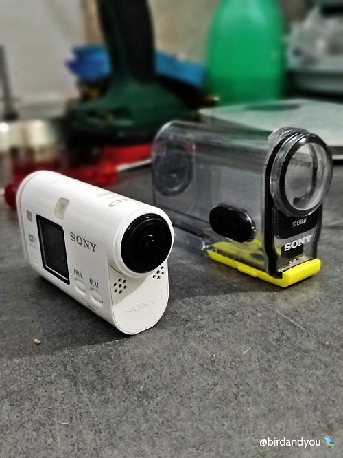 Sony action cam birdandyou