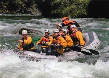 Rafting with Yeti Emotions
