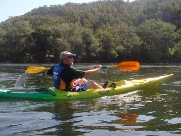Birding by canoe on the River Ebro
