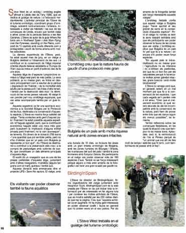 Viatge Ornitològic a Bulgària 2010 2na part