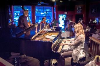 Sunna Gunnlaugs Trio at Tula's, photo courtesy of Daniel Sheehan, EyeShotJazz