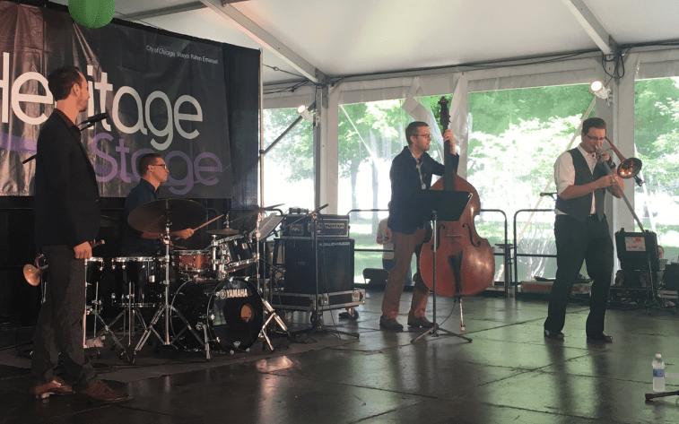 Luke Malewicz Heritage Quartet