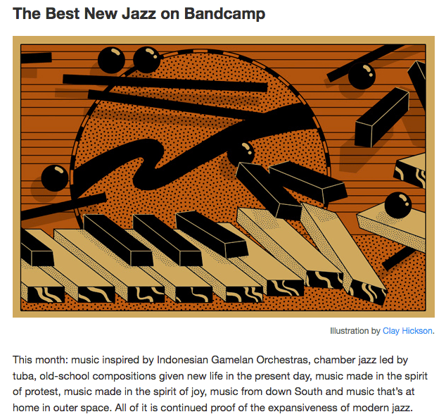 "Now up: February's ""Best of Bandcamp Jazz"" recommendations – Bird is"