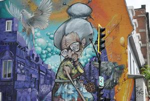 Murale street art Montréal