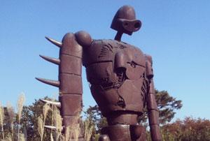 Robot du Château dans le Ciel - Musee Ghibli Tokyo