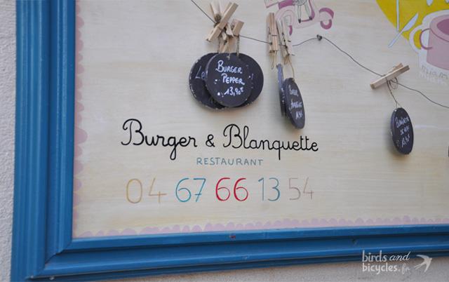 burger et blanquette - bonne adresse à Montpellier