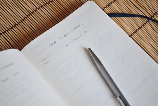papeterie leuchtturm- carnet aux pages numérotées