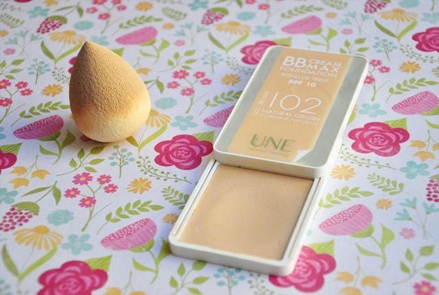 Fond de teint bio de chez UNE: la BB Cream Max