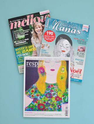 Mes conseils de magazines sur le blog!