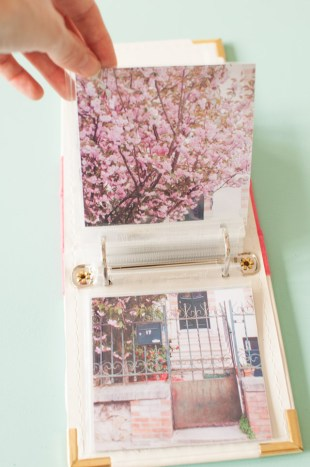 DIY Mon album photo Project Life fait maison