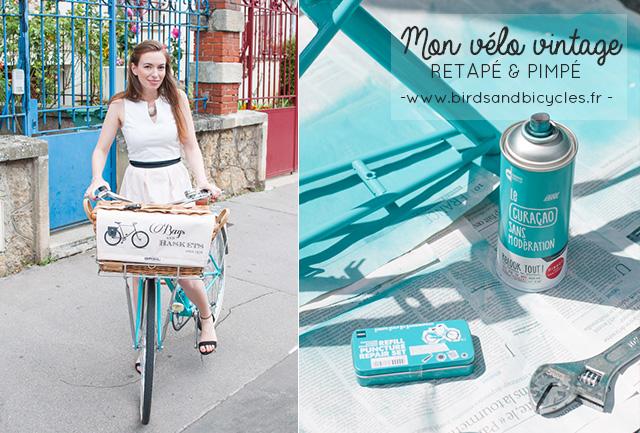 Pimper un vélo vintage: astuces & outils pour se lancer dans ce projet de rénovation de bicyclette