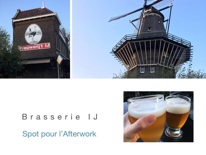 Bonnes adresses à Amsterdam sur le blog Birds&Bicycles: une brasserie dans un moulin !