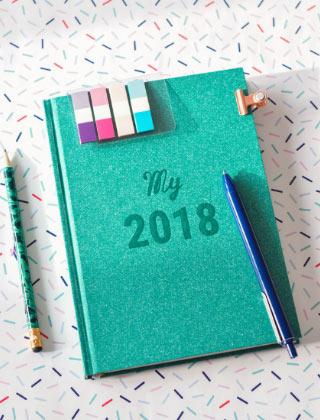 Un super agenda pour s'organiser en 2018