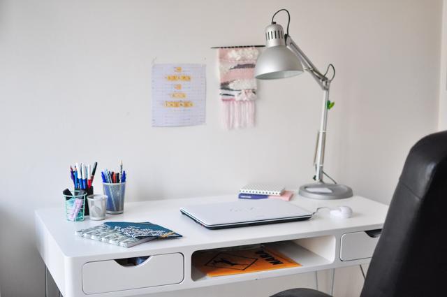 Déco: mon bureau!