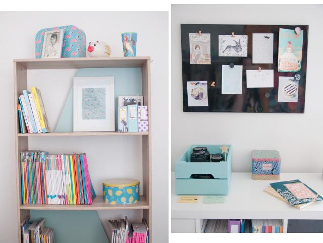 Mon bureau - déco sur le blog lifestyle!
