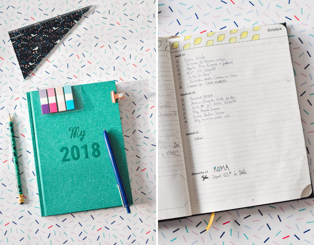 My2018: Mon avis sur l'agenda My365, mi semainier mi bullet journal