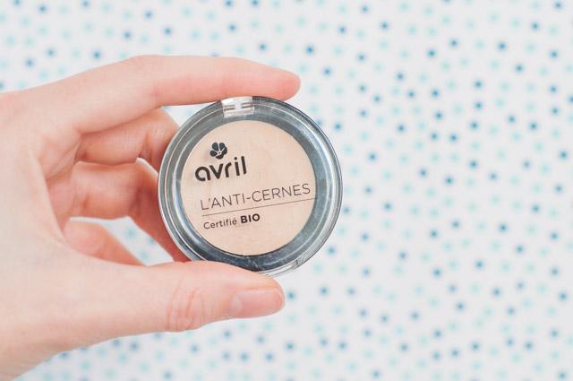 L'anticerne bio de la marque Avril pour camoufler ses imperfections