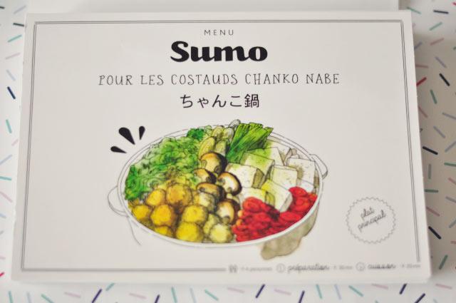 Des recettes japonaises dans un chouette coffret, comme ici le chanko nabe!
