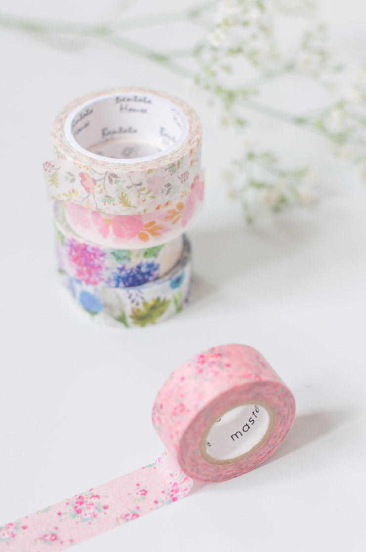 Beaux Masking tapes: crédit photo Birds & Bicyles