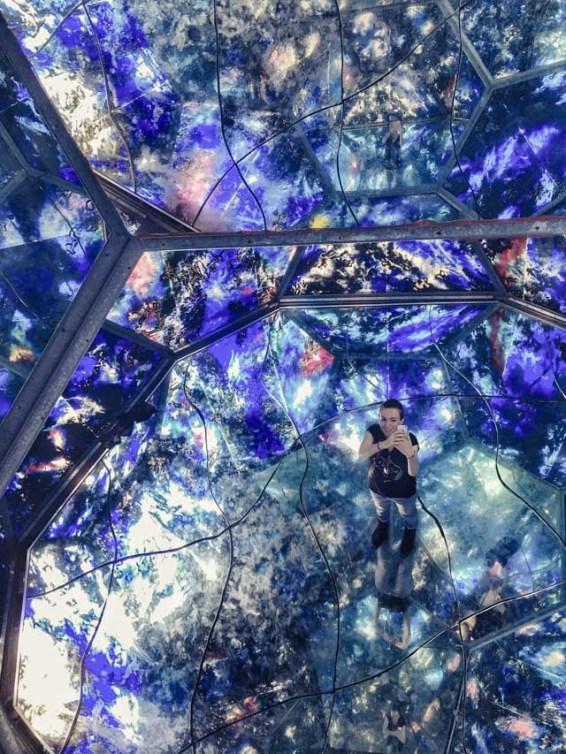 Vu à Copenhague: l'installation dingue de l'artiste, Tróndur Patursson, intitulée Cosmis Space