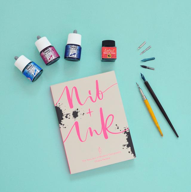 Mes livres de lettering favoris: Apprendre la calligraphie moderne à la plume avec le joli livre Nib+Ink