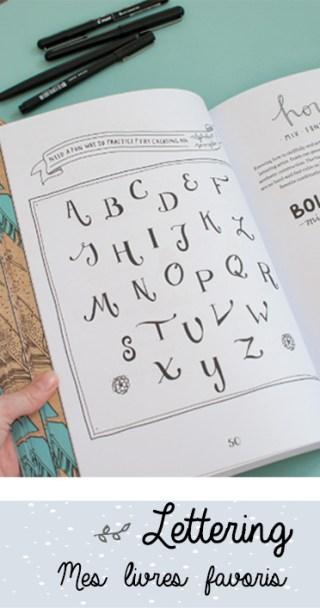 Apprendre le lettering: mes trois manuels préférés!