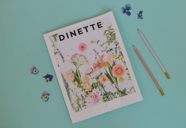 Dinette magazine, le magazine québécois arty sur la bonne bouffe - mais pas que