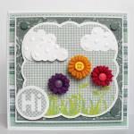 ric rac flower card