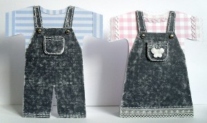 dungarees cards