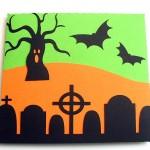 halloween petal card 2