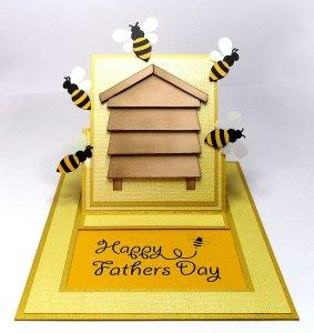 bee hive card 2