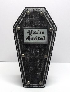coffin invite