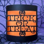 trick or treat bendy card